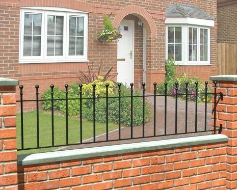 Superior Buy Iron Railings From The Grange Metpost Range Supplied By AWBS