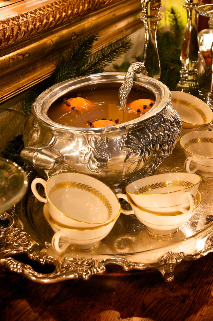 For centuries, Wassail punch was served in England from Christmas Eve till the Twelfth Night. You can enjoy it all during the holidays.