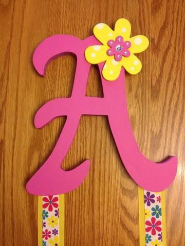 Flower Bow Holder-$10.00