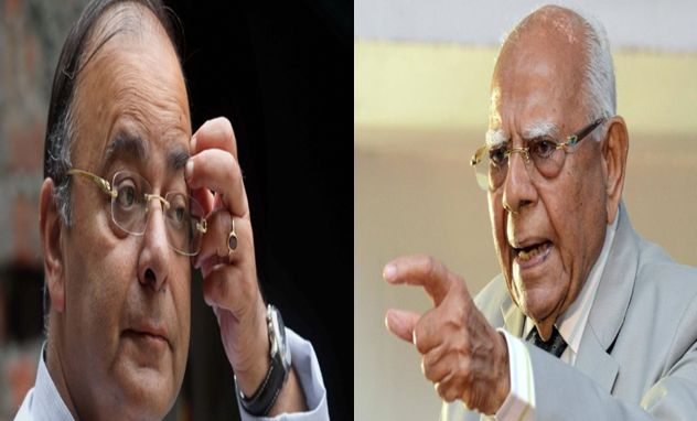 Ram Jethmalani - I'll prove Arun Jaitley is crook and has not reputation. Seems like everything except your reputation is scandalous.