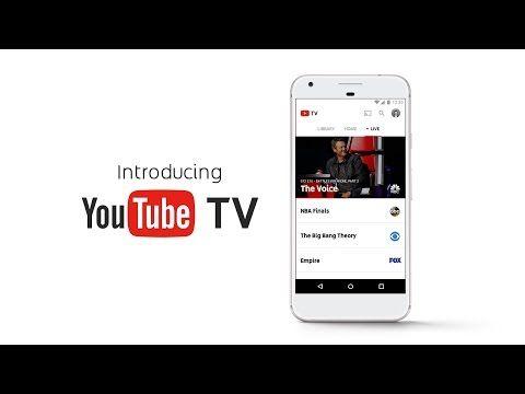 YouTubeインターネットテレビサービスYouTube TVを米国で提供開始Androidアプリもリリース