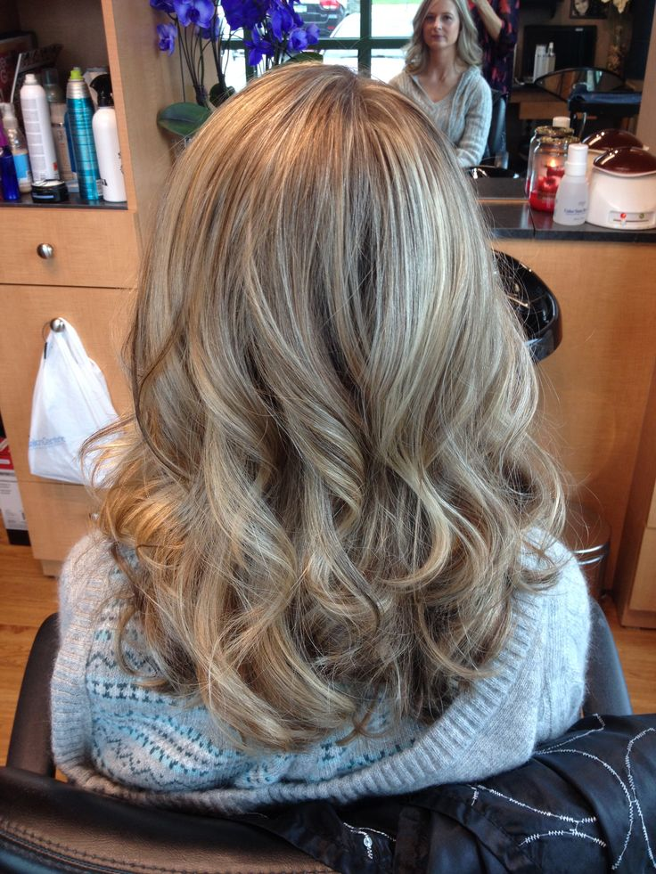 Blonde Highlights And Lowlights Curls Hair By Melissa