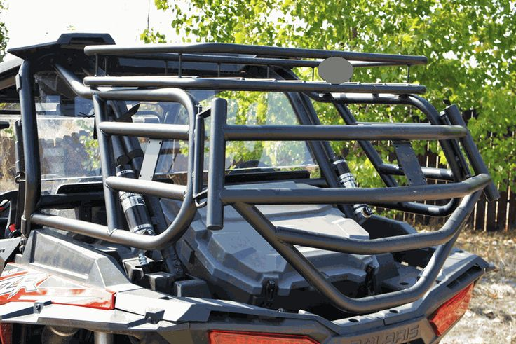 Rear Cargo Rack w| Tailgate by Razorback Offroad - Polaris RZR XP 1000 | XP Turbo