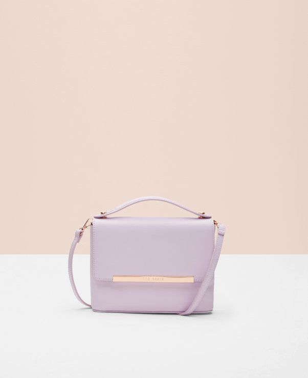 VIDA Leather Statement Clutch - pINK pOSIEE by VIDA p70gA
