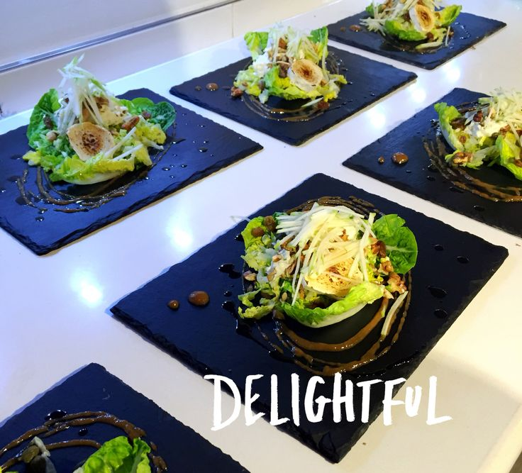 Goats cheese starter by chef Sam Greensmith