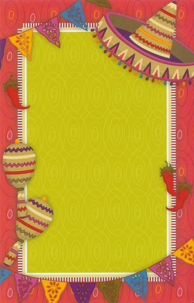 Hot Fiesta Invitation Cards And Free Printable Fiesta