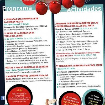 Cerecera 2015 en el Valle del Jerte | Agrupación de Cooperativas Valle del Jerte - http://kcy.me/237yf