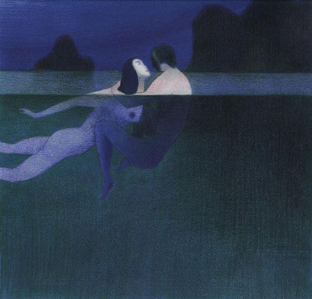 Lorenzo Mattotti - Nell'acqua