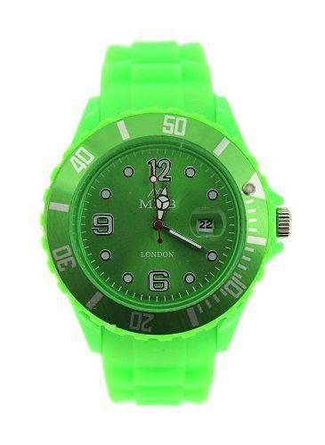 Mabz london Unisex Lime Green Dial rubber Bracelet Ice style Watch, http://www.amazon.com/dp/B00HNXFHUK/ref=cm_sw_r_pi_awdm_RZKavb1NB2MR8