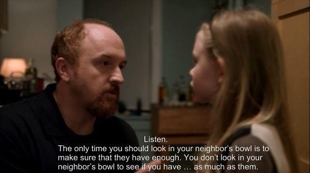 louis ck on dating quotes Louis ck it's hard having kids because it's boring, louis ck explains it's just being with them on the floor while they be children they read clifford the big red dog to you at a rate of 50 minutes a page, and you have to sit there and be horribly proud and bored at.