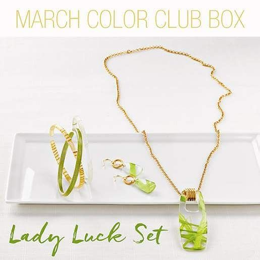 Just a couple days left to grab our March Color Club set! An exclusive, no stress club for Color by Amber's biggest fans! Enjoy a unique style & lots more. You can learn more here: http://heatheryoung.mycolorbyamber.com/colorclub #ecofriendly #jewelry #subscription