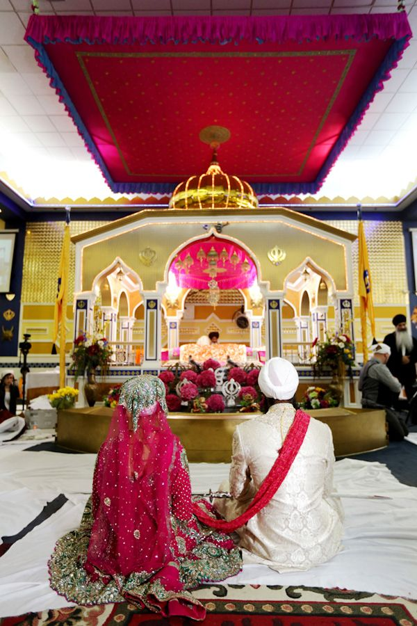Colorful Indian wedding #culture #weddings