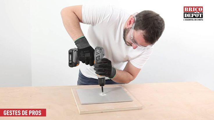 Comment percer du grès cérame ou du verre sans les casser ?
