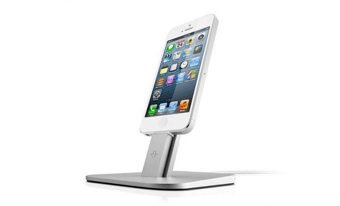 Review: Twelve South HiRise for iPhone and iPad Mini - The HiRise Stand for iPhone 5/5s and iPad Mini is definitely a rise above its competitors. The HiRise Stand, designed by Twelve South, although by mos...