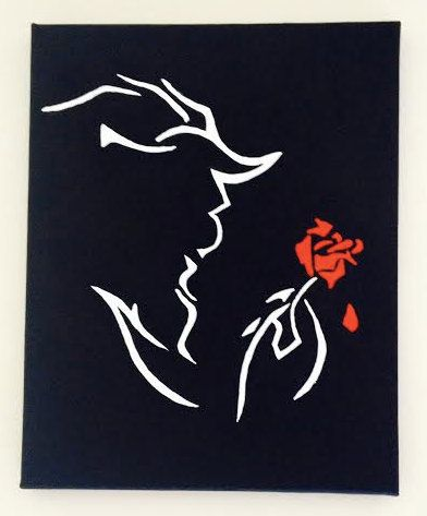 Beauty And The Beast Broadway Canvas Made Disney PaintingsDisney