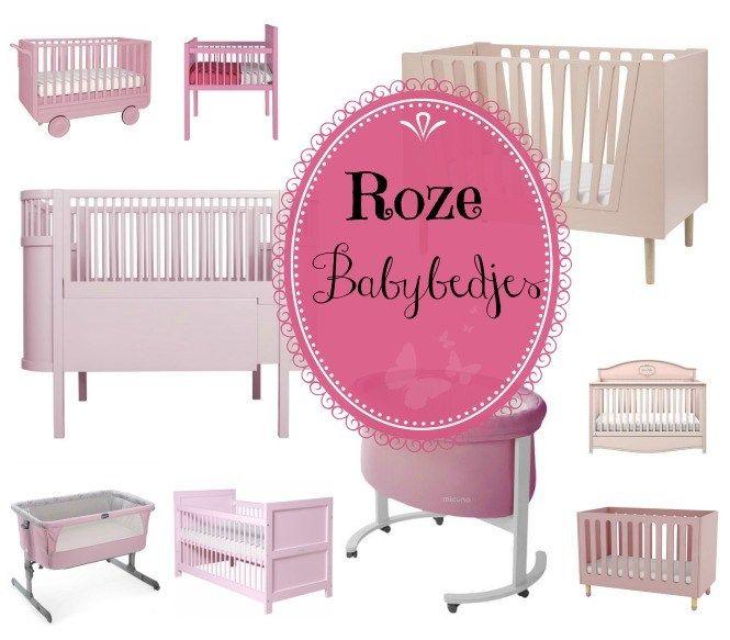 Roze babybedjes * ledikant & wieg
