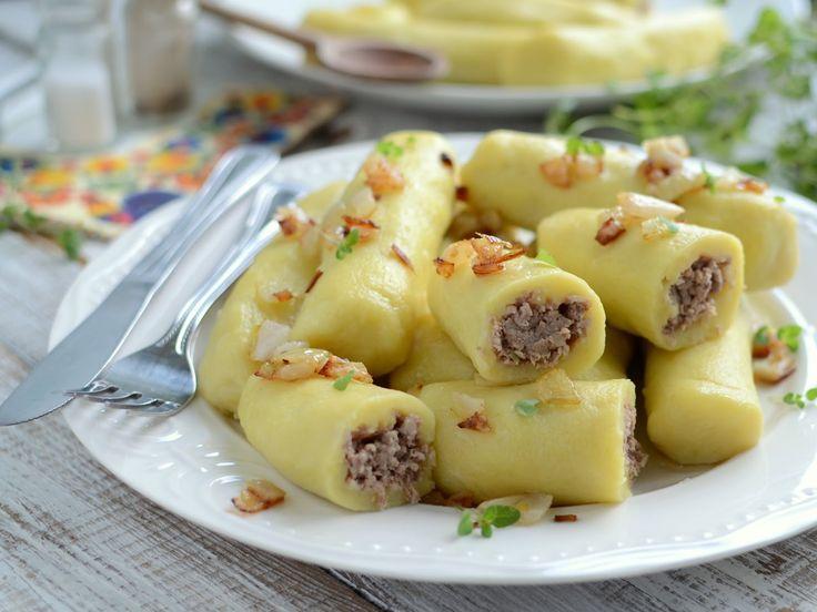 Gotuj z Cukiereczkiem: Ziemniaczane cygara z mięsem