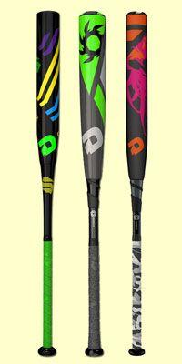 DeMarini custom softball bats and baseball bats are available on JustBats with free shipping every day!