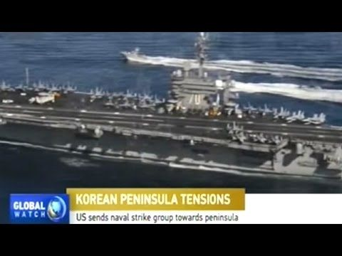 Chinese News Coverage Of Deployment Of US Aircraft Carrier Strike Group ...