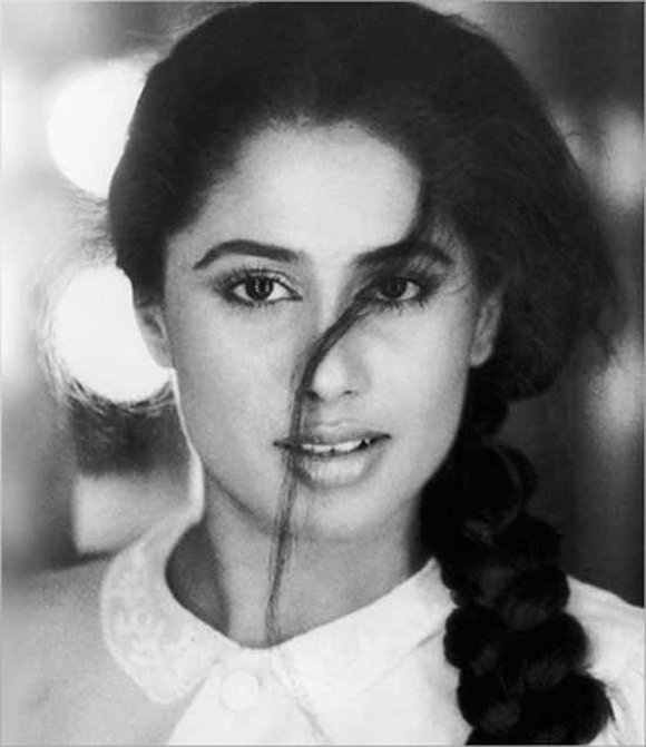 Smita Patil- an iconic versatile actress who left a mark on the Indian cinema even though  she passed away after a short span of life as an actress & died quite young. There's so much of her in her son Prateik Babbar, right down to the soulful eyes.