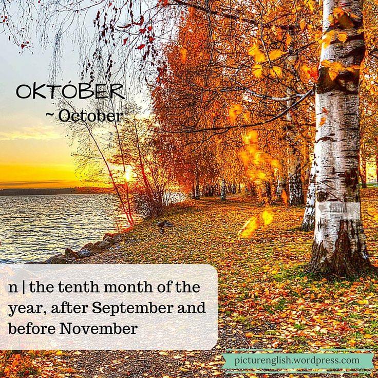 October / Október