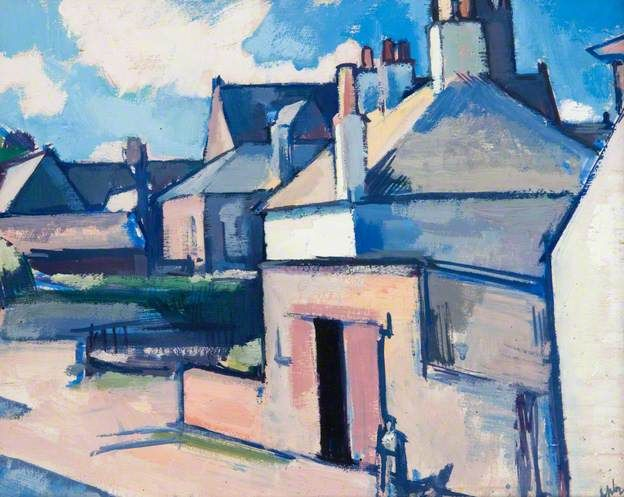 "JOHN SAMUEL PEPLoE - ""Kirkcudbright"""