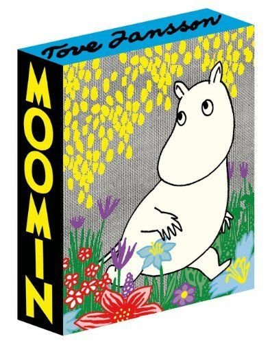 Moomin: Deluxe Anniversary Edition by Tove Jansson, http://www.amazon.co.uk/dp/177046171X/ref=cm_sw_r_pi_dp_k081tb1JJ75AH