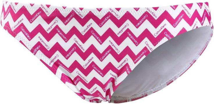 #Calvin #Klein #Chevron #Bikini #Hosen #Damen #pink/weiß