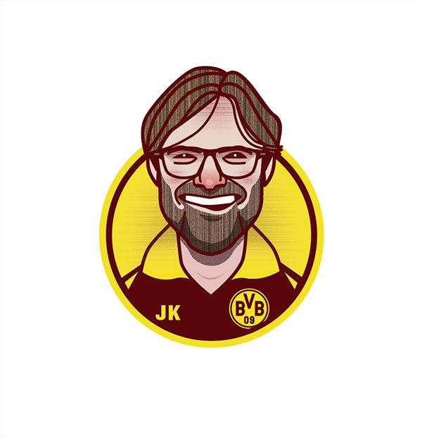 Football Managers on Behance