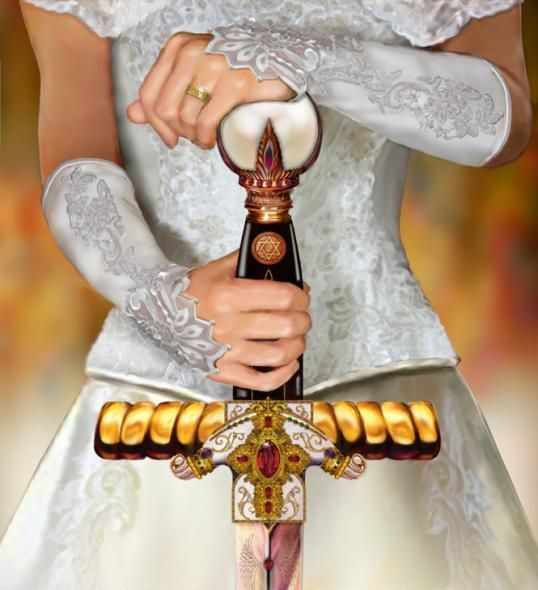 """The Bride of Christ"" by artist Todd L. Thomas"
