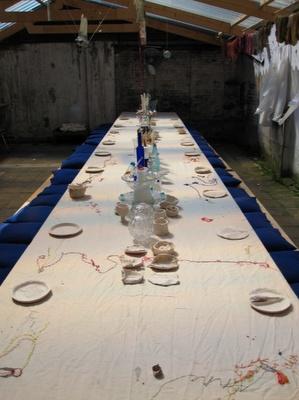 lenn cox voor shaping heritage by judith ter haar - arnhem mode biennale 2009