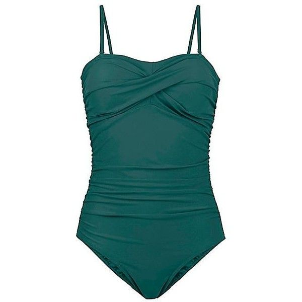 Green Shaper Swimsuit | Swimwear365 ($44) ❤ liked on Polyvore featuring swimwear, one-piece swimsuits, bathing suit swimwear, green swimsuit, swimsuit swimwear, swimming costume and swim costume