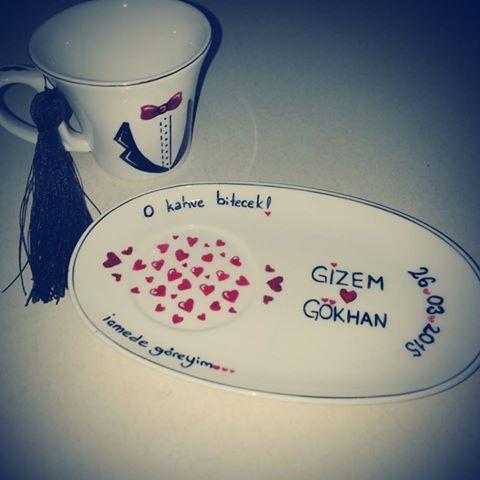 #kızisteme #söz #nişan #tuzlukahve #düğün #gelin #damat  Damatlara özel tuzlu kahve fincanı.