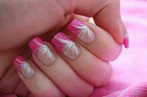#pink nail
