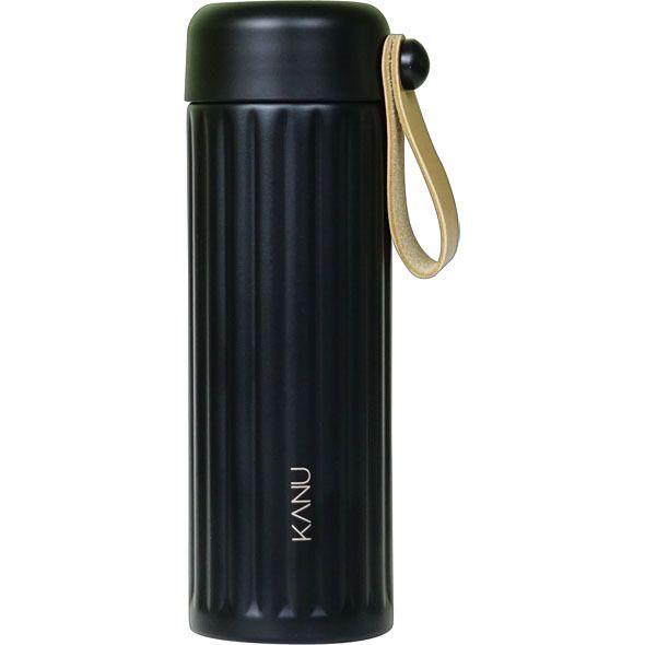 KANU STRAP Stainless Tumbler 355ml BLACK Thermos Cold Coffee Mug Ad by GONG YOO #KANU