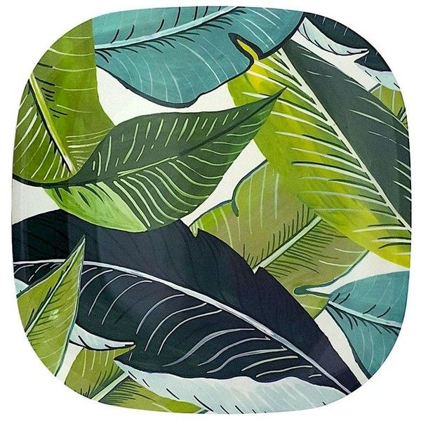 Celebrate Spring Together Palm 11-in. Square Melamine Dinner Plate.  sc 1 st  Pinterest & 25 best Palm Dinnerware images on Pinterest | Dinner ware Palms and ...