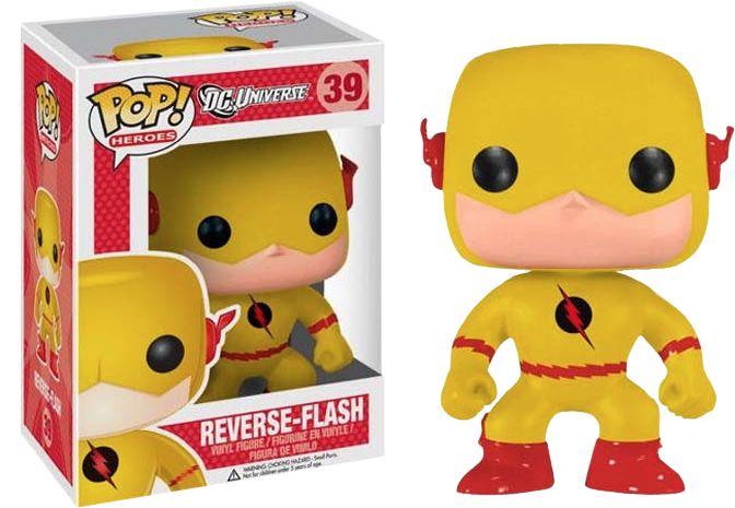 Funko Pop! DC Comics Reverse Flash Exclusive Vinyl Figure