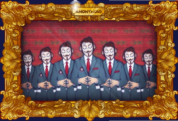We are anonymousGraphics Art