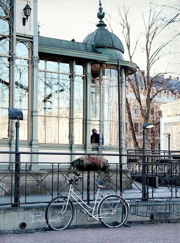 Restaurant Kappeli on Esplanade, Helsinki Re-pinned for you by #Europass