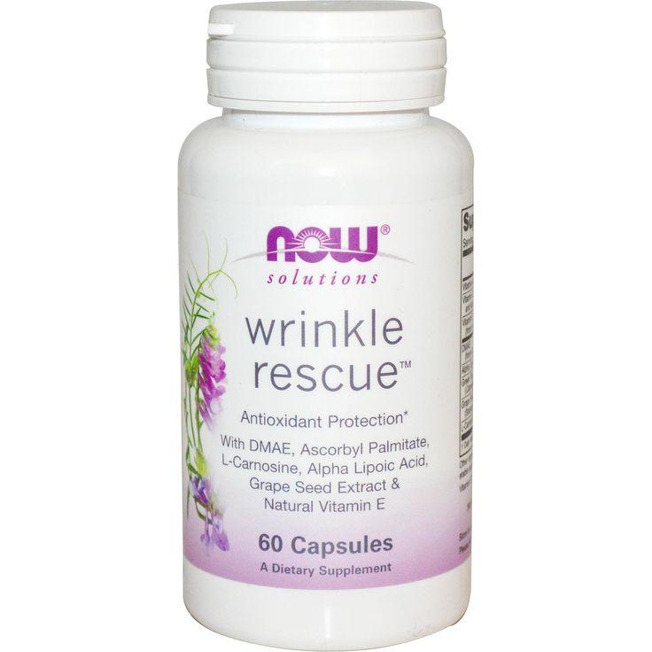 Капсулы от Морщин (Wrinkle Rescue) - 60 капсул