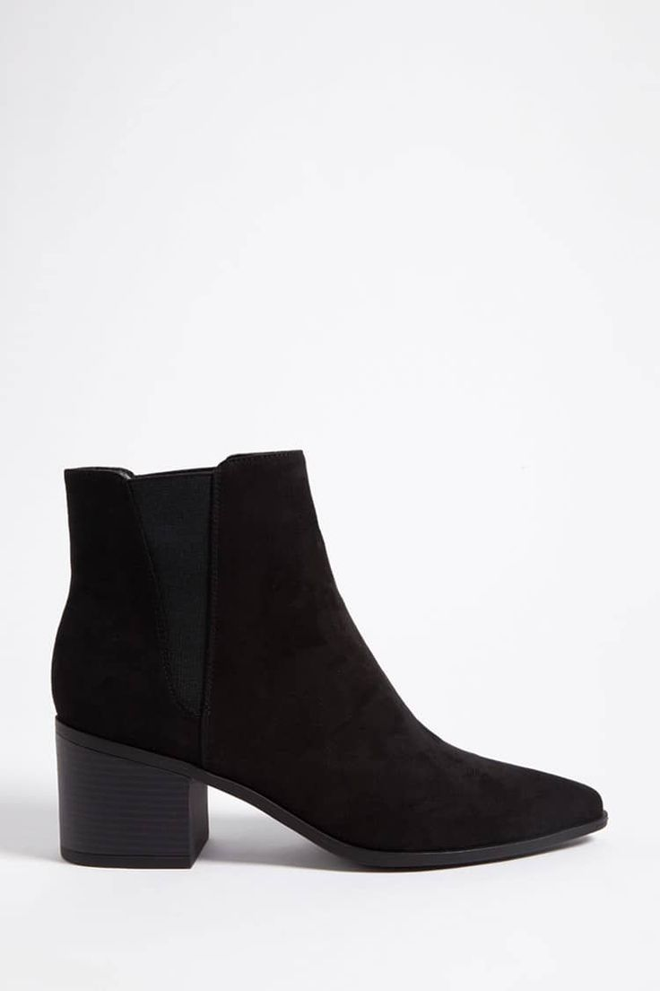 Product Name:Faux Suede Chelsea Boots, Category:Shoes, Price:29.9