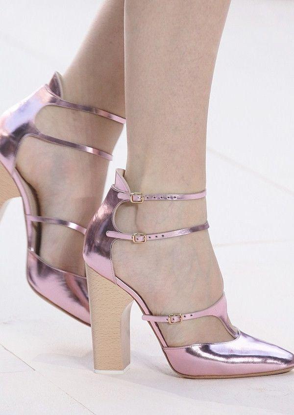 Shoes at Chloe Spring 2013