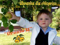 Ubranka dla chłopców- Garnitur dla dzieci biało-granatowy do chrztu, na wesele czy na roczek