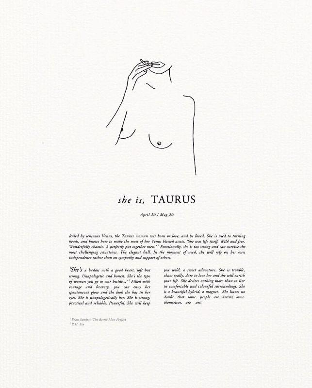 VSCO - #taurus #zodiac | tastefullydepressed | word | Taurus