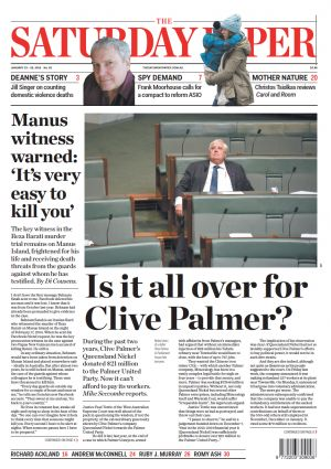 Is it all over for Clive Palmer and PUP? Mike Seccombe During the past two years, Clive Palmer's Queensland Nickel donated $21 million to the Palmer United Party. Now it can't afford to pay its workers.