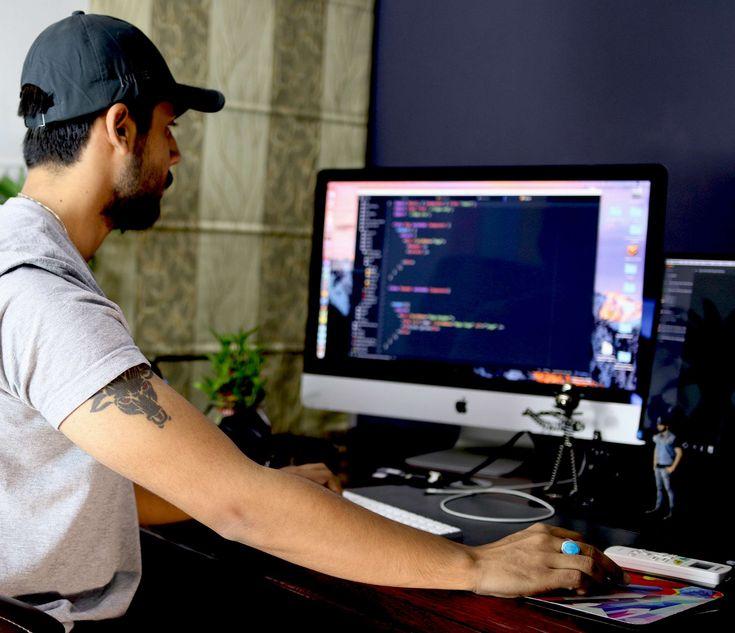 #apple #boy #bull #code #coder #computer #coworking #design #designer #guy #hacker #hard work #information technology #tattoo
