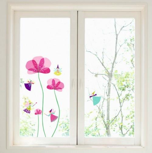 Little Fairies Decorative Window Decals - Nouvelles Images - Events