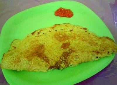 Recipe For Making Besan Cheela Or Savoury Gram Flour Pancake