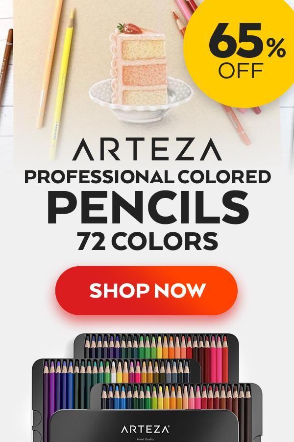 Professional Watercolor Pencils Set Of 72 Pencil Drawing