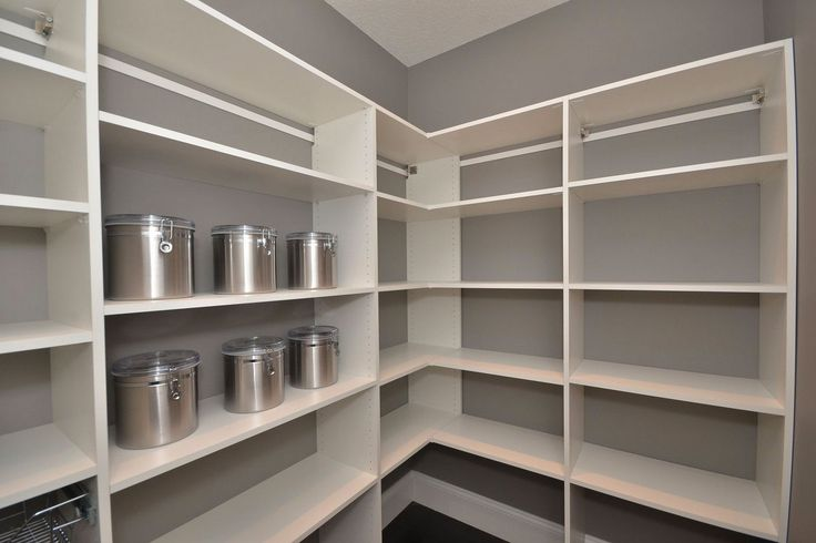 14 best closets images on pinterest closet organization for Best pantry shelving system
